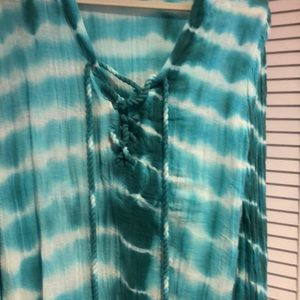 Brand new without tags gauze top